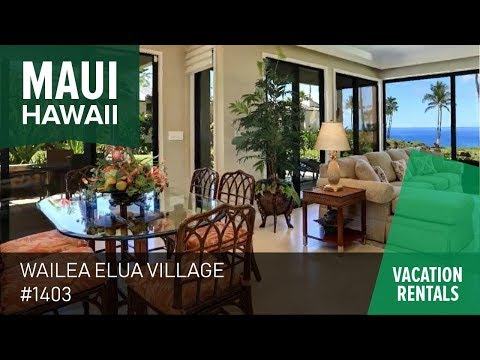 Fall in love with Maui's 2 bedroom vacation oceanfront villa