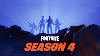 Fortnite Season 4 - Showing All New Skins/ Emotes/ Banners and more!!!