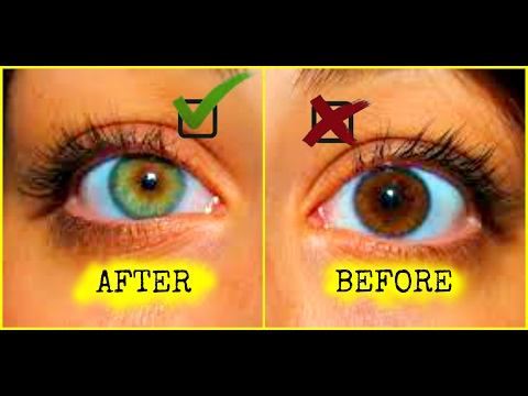 HOW TO CHANGE YOUR EYE COLOR | HOW TO GET GREEN EYES | 100% WORKS