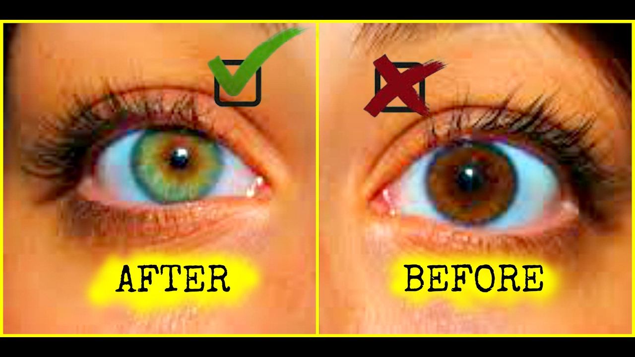 HOW TO CHANGE YOUR EYE COLOR | HOW TO GET GREEN EYES | 100 ...