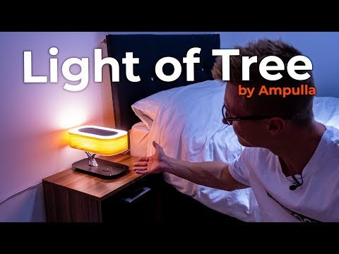 360° Bluetooth Speaker, Wireless Charger & Lamp! - Masdio Light of Tree