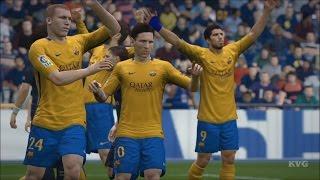 FIFA 16 - PSG vs FC Barcelona Gameplay (XboxONE HD) [1080p60FPS]