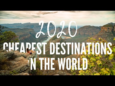 The Cheapest Travel Destinations In The World In 2020