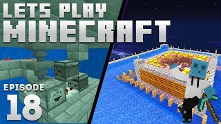 iJevin Plays Minecraft - Ep. 18: PROJECTS GALORE! (1.14 Minecraft Let's Play)
