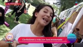 Sara Maldonado comparte el cambio de su vida | Sale el Sol