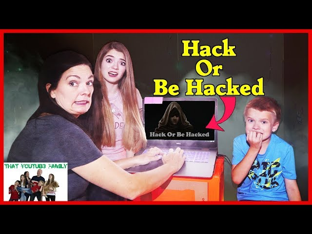 HACK OR BE HACKED Trying To ESCAPE The Hackers Box Fort / That YouTub3 Family