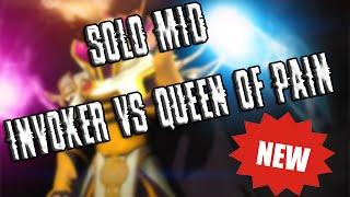 Solo mid #1 Invoker vs Queen of Pain