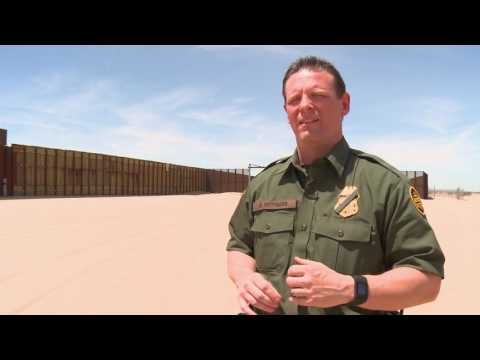 BORDER EVOLUTION: Smuggling past barriers using tunnels and drones