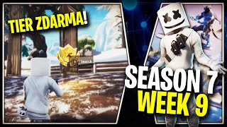 WHERE is the FIFTH FREE TIER FOR SEASON 7 (Week 9)-Fortnite Battle Royale CZ/SK