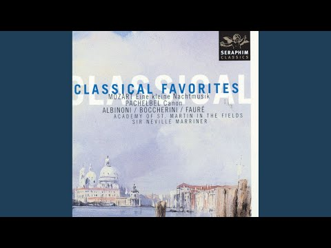 Canon and Gigue in D Major for 3 Violins and Continuo, P 37: I Canon Orchestral Version