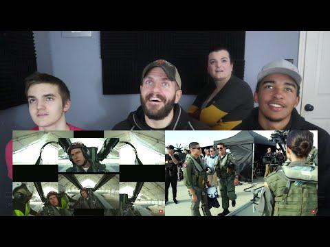 NEW Top Gun 2 BEHIND THE SCENES Trailer REACTION!