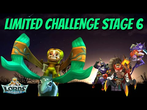 Limited Challenge Stage 6 Grove Guardian - Lords Mobile