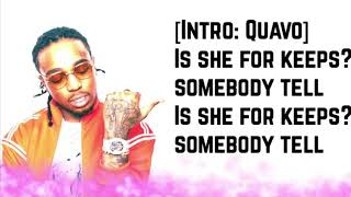 Quavo - She For Keeps ft Nicki Minaj (Official Lyrics)