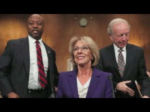 The challenges ahead for Education Secretary Betsy DeVos