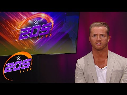 Drake Maverick reveals the WWE Cruiserweight Title Tournament bracket: WWE 205 Live, Feb. 20, 2018