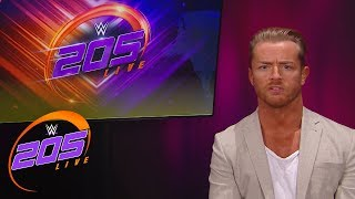 Drake Maverick reveals the WWE Cruiserweight Title Tournament bracket: WWE 205 Live, Feb. 20, 2018