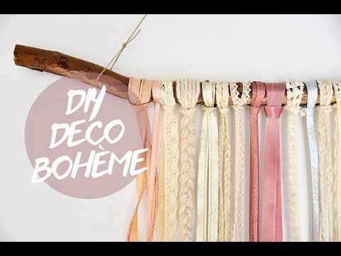 diy d co boh me un attire r ve youtube. Black Bedroom Furniture Sets. Home Design Ideas