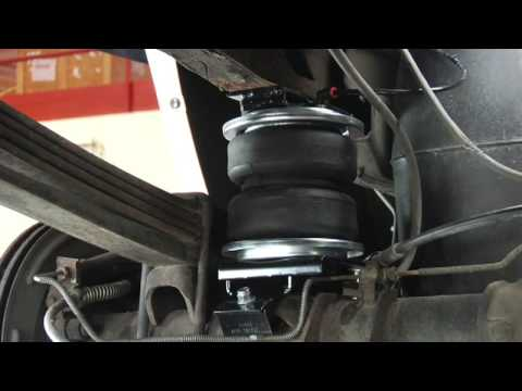 Air Bag Suspension >> Load Lifter 5000 Generic Install from Air Lift - YouTube