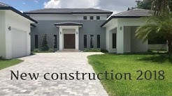 New Construction House 2018 / Miami Real Estate