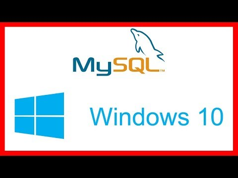 How To Download Install And Configure MySQL On Windows 10 - Tutorial