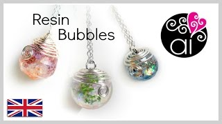How To Cast Resin Sphere | Tutorial Spheres | DIY Resin Bubbles