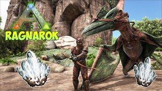 ДОБЫЧА КРИСТАЛЛОВ И ХИТИНОВАЯ БРОНЯ - ARK Survival Evolved Ragnarok