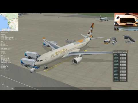 [X-Plane 11] Jardesign A330 LIRP - EGGD from Pisa San Giusto to Bristol International Airport