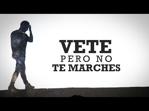 Rafa Espino - Vete pero no te marches (ft. Michelle) [Lyric Video]