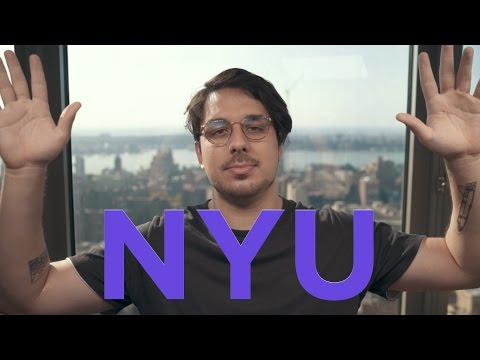 QUANTO CUSTA? - FACULDADE NA NEW YORK UNIVERSITY