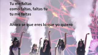 Fifth Harmony - Better Together ~ Spanish Lyrics