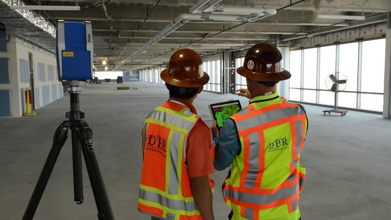 DPR Construction Pushes the Limits with 3D Laser Scanning