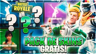 'NEW FREE SKINPack' à FORTNITE BATTLE ROYALE! TU DOIS LE VOIR !