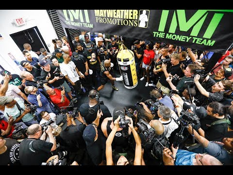 Floyd Mayweather Media Workout (Complete) - MMA Fighting