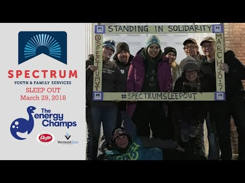 Spectrum Sleep Out | Bright Ideas