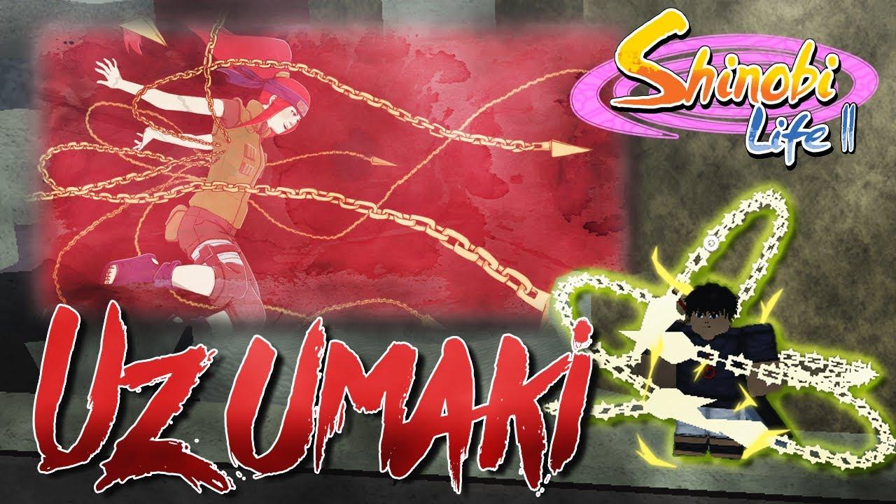 Uzumaki Clan Showcase! | Shinobi Life 2 | ROBLOX
