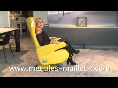 Meubles Mailleux Fauteuil Relax 2015 2016 Youtube