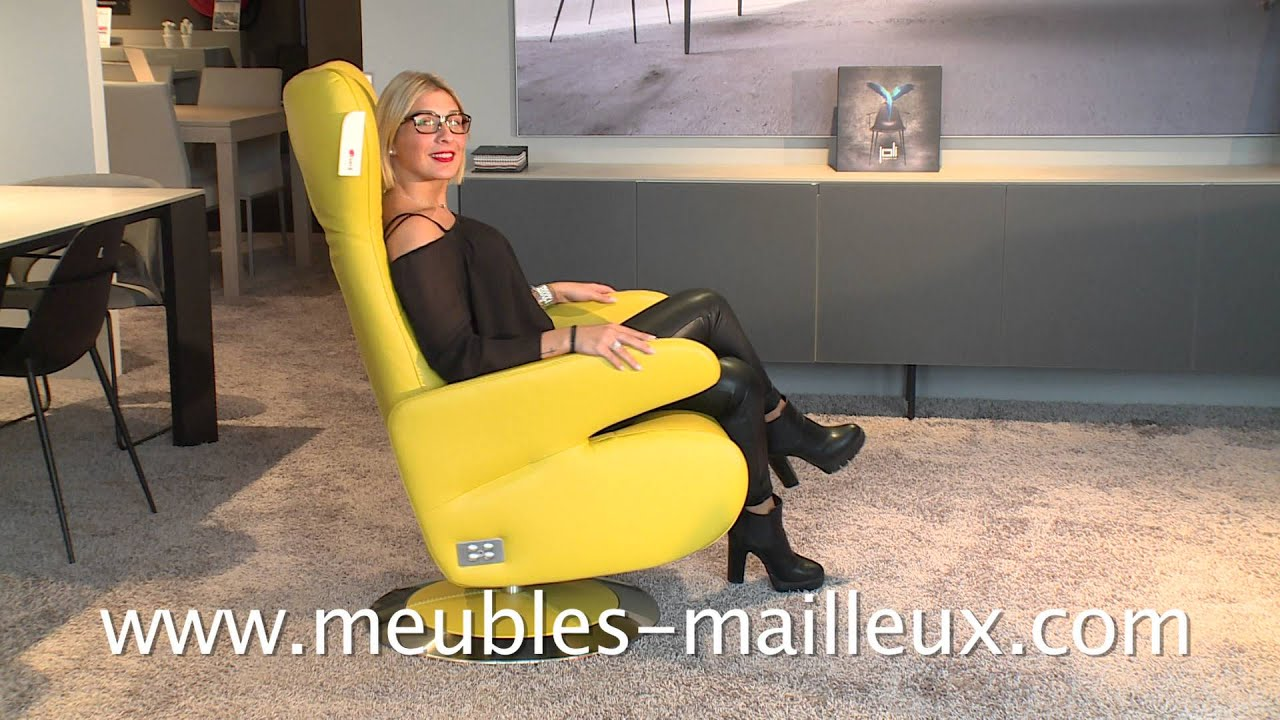 Meubles mailleux fauteuil relax 2015 2016 youtube Meubles mailleux