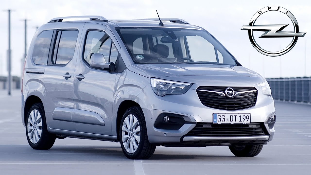 2018 opel combo life quartz silver exterior interior. Black Bedroom Furniture Sets. Home Design Ideas