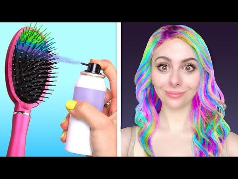 AMAZING HAIR TRICKS that actually work !