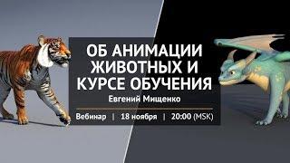 Об анимации животных и курсе обучения с Евгением Мищенко.