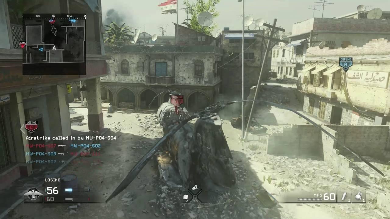 Modern Warfare Remastered gameplay - YouTube