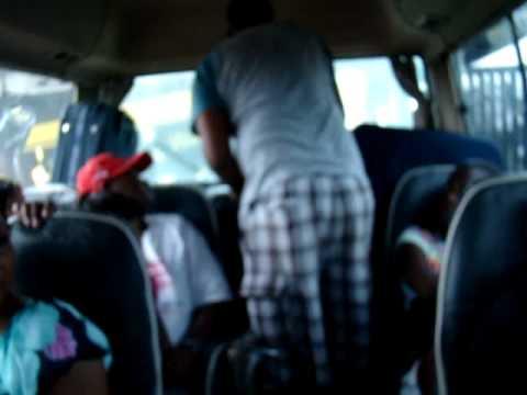 Día 8: Holandés en el colectivo hacia Paramaribo (Suriname)