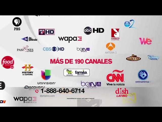 Dish Latino Tv Spot Mas De 190 Canales Con Eugenio Derbez Youtube
