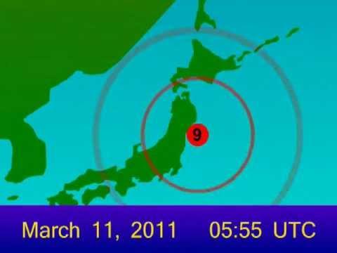 Japan (Tōhoku) Earthquake of 11 March, 2011 Animation