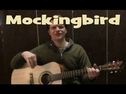 Mockingbird (Eminem) Easy Guitar Lesson How to Play Tutorial