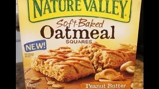 Nature Valley Soft Baked Oatmeal Peanut Butter Taste Test