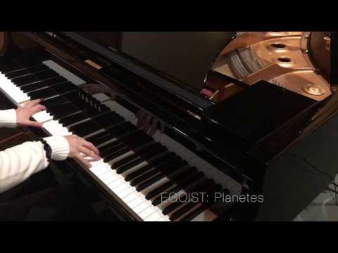 EGOIST - Planetes [Piano]