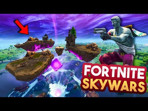 FORTNITE SKYWARS MINIGAME v2!! - Fortnite Playground (Nederlands)