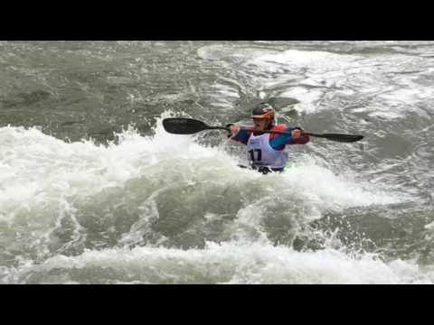 White Water Free Style woman's finals Truckee River Reno