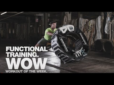 Functional training - TIYR challenge Workout of the Week
